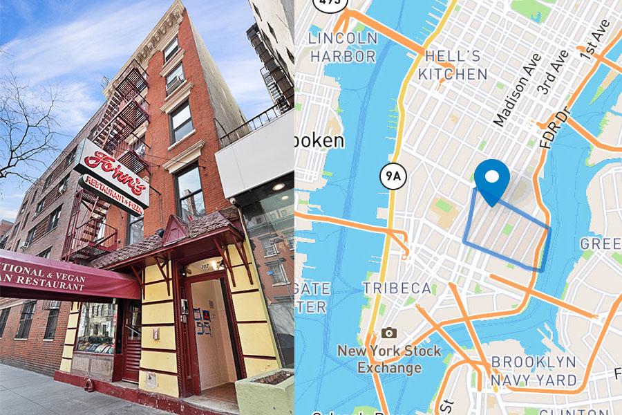 302 East 12th Street - John's restaurant
